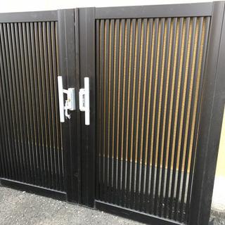 門扉 両開き リクシル(TOEX)シャレオR2型