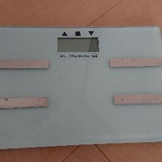 【商談中】スタイリッシュな体重計