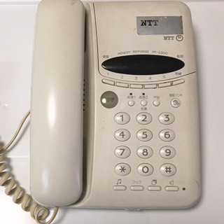 NTT電話機  ジャンク品