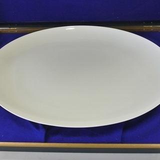 ★ナルミ/narumi ボーンチャイナ 435mm 楕円型大皿 ...