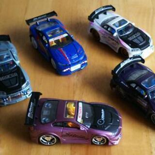 日産 ミニカー『GTR&シルビア』5台セット