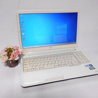 ノートパソコン譲ります。即使える最速SSD使用/Win10/DV...