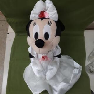 【リブラ店】ミニー 花嫁 ぬいぐるみ