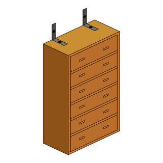 家具の固定や移動は地震対策となります。ハイハイネットにご相談下さ...