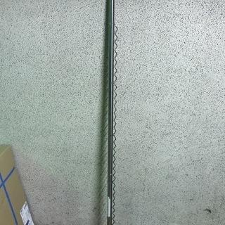 ステンレス 伸縮 物干し竿 ハンガーかけ付 1.6m~3.1m
