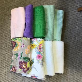 新品バスタオル 洗濯済