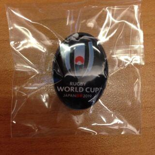 ラグビーワールドカップ ピンバッジ ピンバッチ 非売品 母国開催 記念