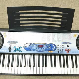 CASIO LK-36 61鍵盤 光ガイド 電子ピアノ