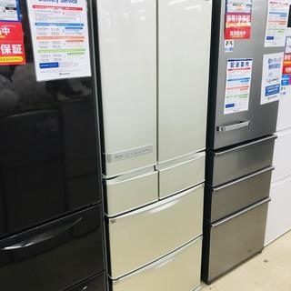 6ヶ月間動作保証付  2010年製 SHARP 6ドア冷蔵庫【ト...