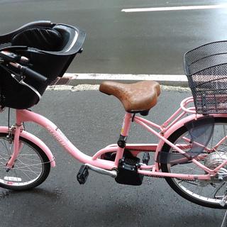 SUISUI 20/24インチ 電動アシスト自転車 チャイルドシ...