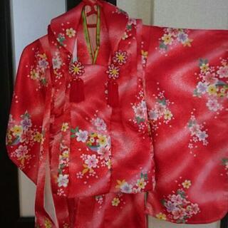 七五三  着物  被布セット  3歳女児  - 宮崎市