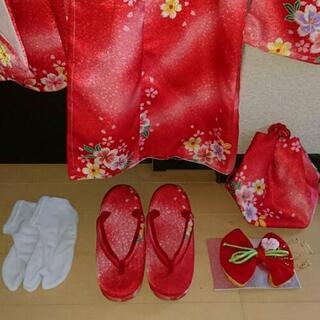 七五三  着物  被布セット  3歳女児  - 子供用品