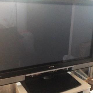 【差し上げます】【ジャンク】日立37型プラスマテレビ