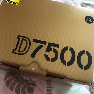 NIKON d7500 本体デジタル一眼レフカメラ