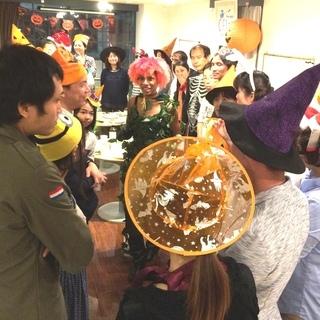 10/31(木) 国際交流 ハロウィンパーティー!