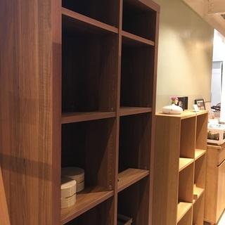 本棚 シェルフ 茶 格安 組立家具 中古品