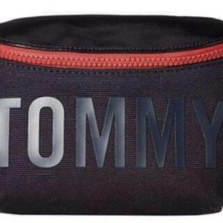 𖣔TOMMYロゴ入りウエストバッグ美品トミー2019ボディ…