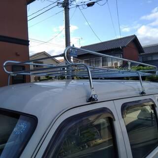 軽バン用金属製ルーフキャリヤー