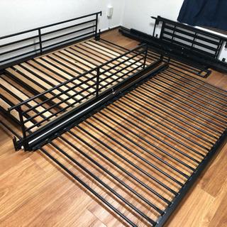 購入者決まりました🙏パイプ二段ベッド
