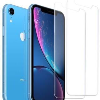 iPhone XR ガラスフィルム 2.5Dラウンドエッジ加工 ...