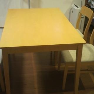 値下げ◆引き取り限定◆ニトリ◆ダイニングテーブル4点セット - 家具