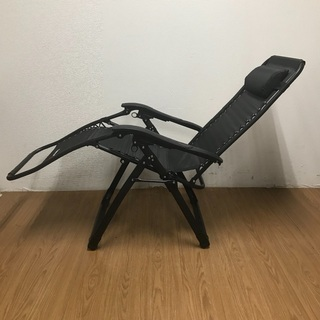 FLAMROSE 枕一体型折り畳みリクライニングチェア ¥3,500 - 横浜市
