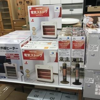 冬物家電、取扱開始!!中古・新品多数販売中!!