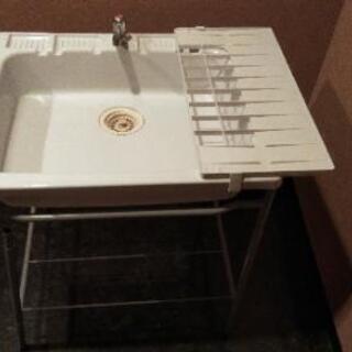 簡易洗面台、簡易流し台、簡易シンク
