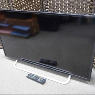 取引中 40型テレビ&テレビ台セット