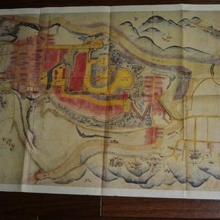 高遠町の城下町地図