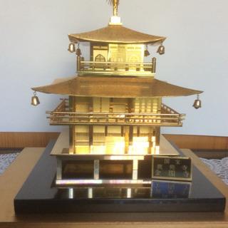 金閣寺の置物(ケース付き)