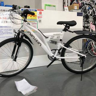 マウンテンバイク 新車  白 - 大阪市