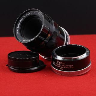 【光学美品】Canon FL 50mm F3.5 MACRO (...