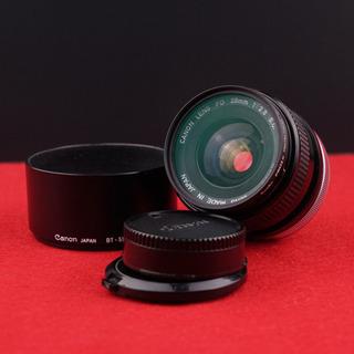 【外観・光学美品】Canon  FD 28mm F2.8(動作確認済)