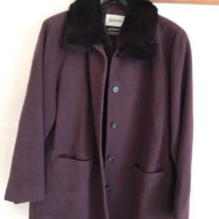 コート 紫
