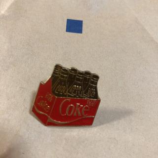 コカコーラ 6本入りラック ピンバッジ