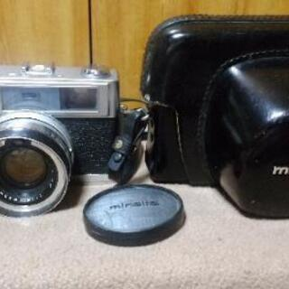 昭和レトロ ミノルタ7s フイルムカメラ