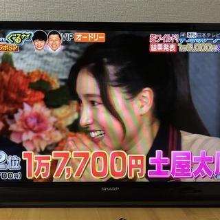 美品 SHARP シャープ AQUOS 32型液晶テレビ LC-...