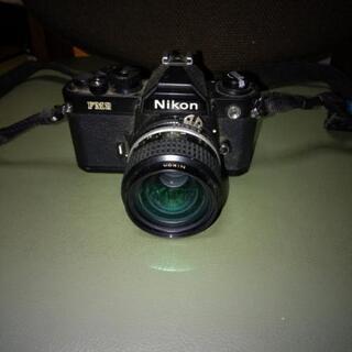 ニコン カメラ FM2 交換レンズ2個