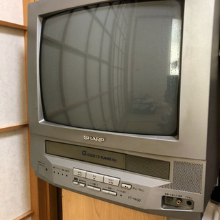 ブラウン管テレビデオあげます