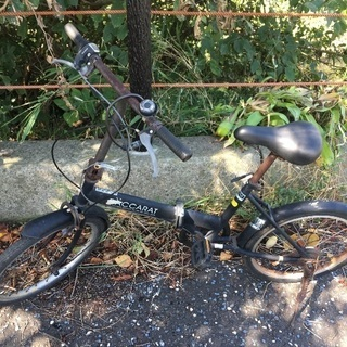 (chariyoshy出品)ジャンク折りたたみ自転車 6段ギア