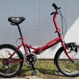 foory20インチ折り畳み自転車6段変速