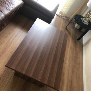 シンプル 木目調 ローテーブル