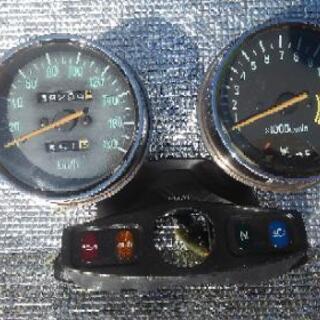 ゼファー400 2型 スピードメーター&タコメーター