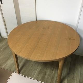 伸縮式丸テーブル