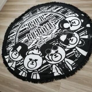 KRUNK×BIGBANG ビーチ ラウンド タオル