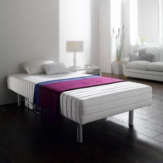 値下げしました:フランスベット製 お洒落な脚付マットレスベッド