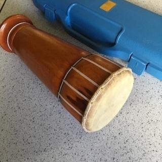 【幼稚園で】鍵盤ハーモニカと太鼓のセット