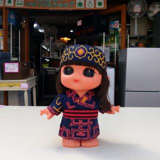 #2876 人形 ピリカメノコ(大) 紺