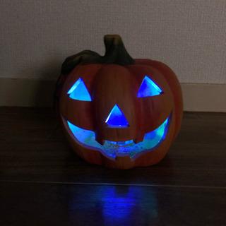 LEDハロウィンかぼちゃの置物